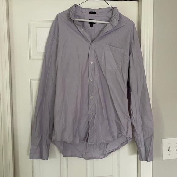 J crew flex washed classic fit button down shirt